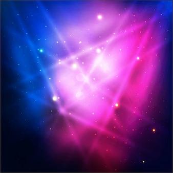 Lumière des lumières colorées modernes