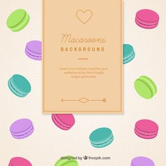 Macarons fond