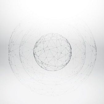 maille sphère wireframe
