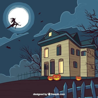 Maison hanté et sorcière
