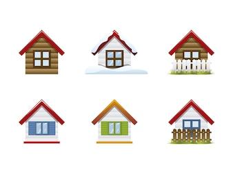 Maisons icon collecti