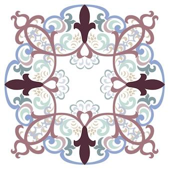 Mandala fond décoratif