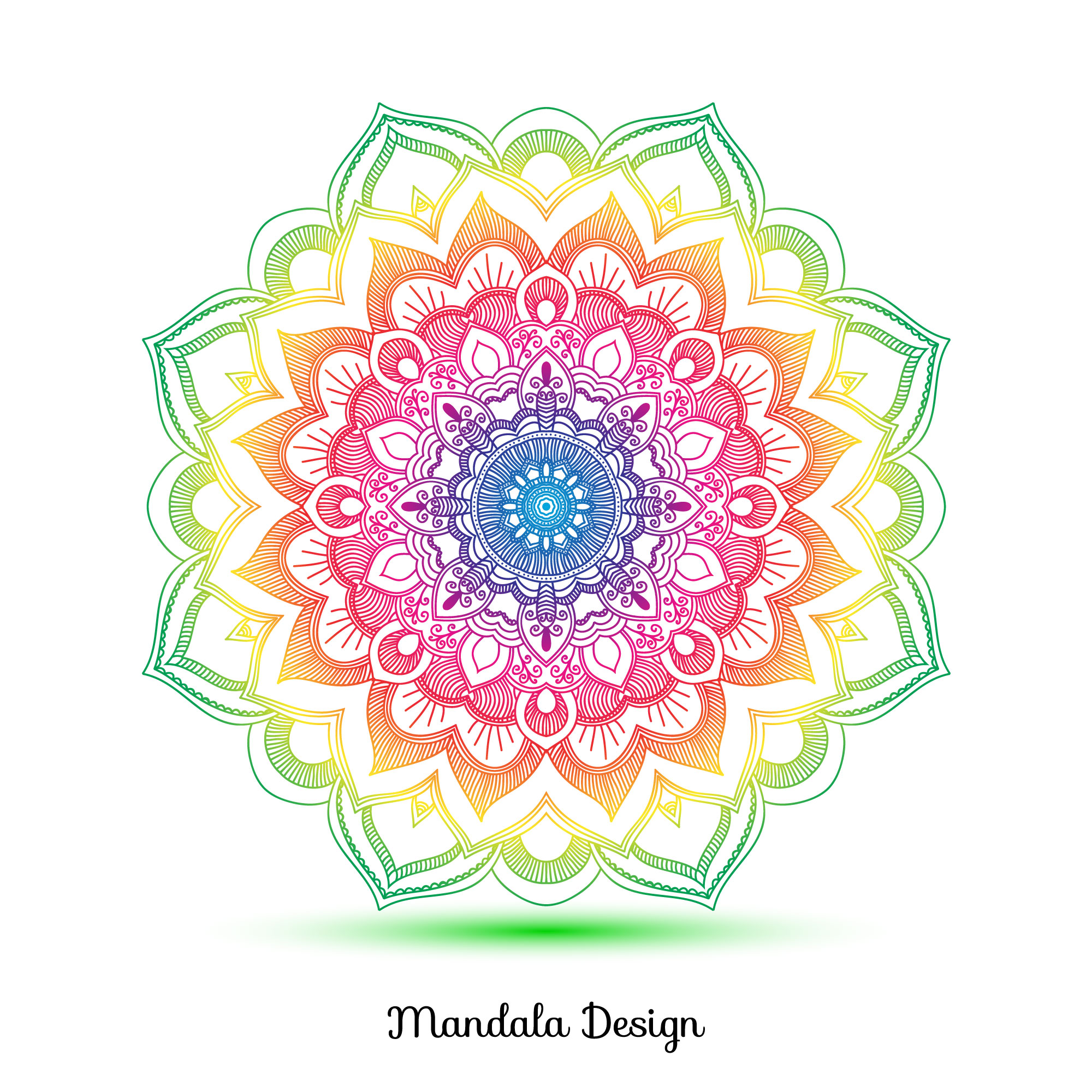 Mandala ornement