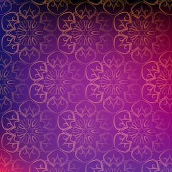 Mandala pattern background