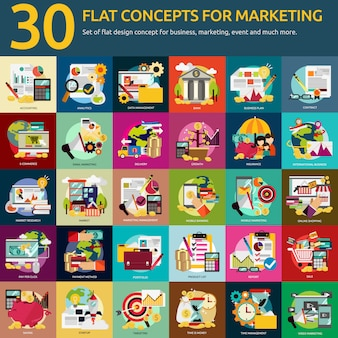 Marketing conçoit collection