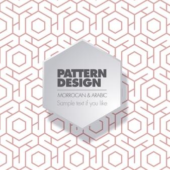 Marocaine et design pattern arabe