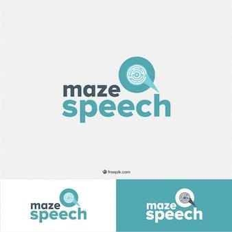 Maze Logo Template