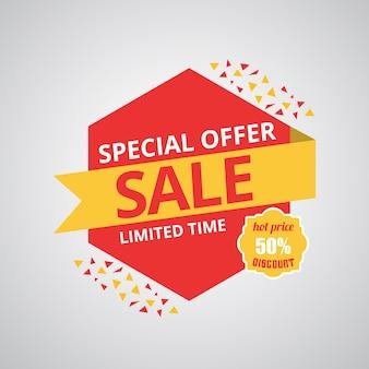 Mega Sale banner Big super sale