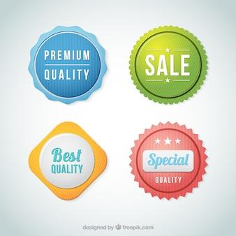 Meilleures badges de qualité
