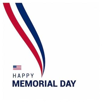 Memorial Day USA Creative fond
