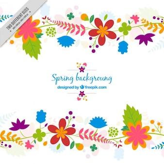 Mignon fond de printemps
