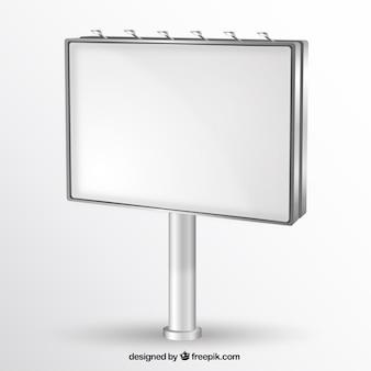 Mockup billboard Blank