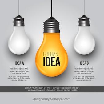 Modèle de Brillante idée