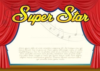 Modèle de certification pour super star