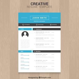 Modèle de CV Creative