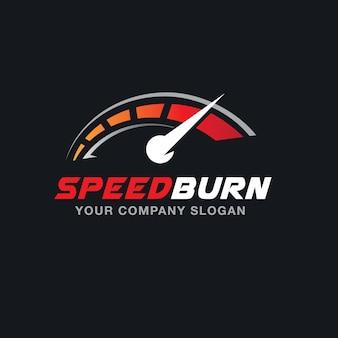 Modèle de logo automobile et automobile.
