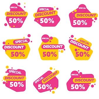 Modèle de logo de vente