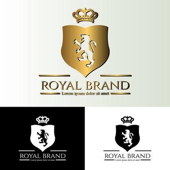 Modèle de logo élégant