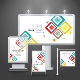 Modèle de logos d'entreprise