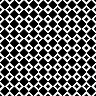 Modèle de rhombus noir et blanc