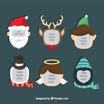 Modèle Image de Noël