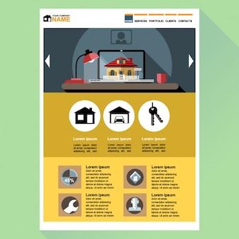 Modèle web de Nice