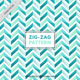 Modèle Zigzag dans les tons bleus