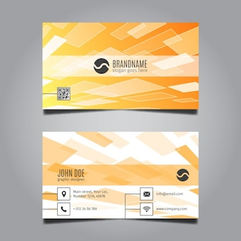 Moderne Business Card Résumé
