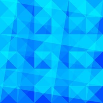 Motif bleu de triangles
