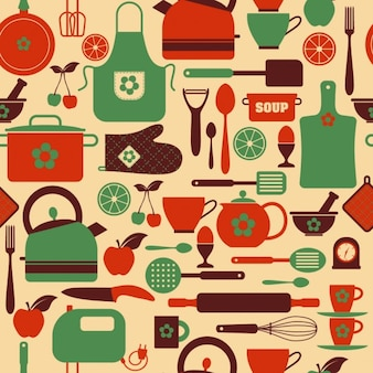 Motif de cuisine Seamless