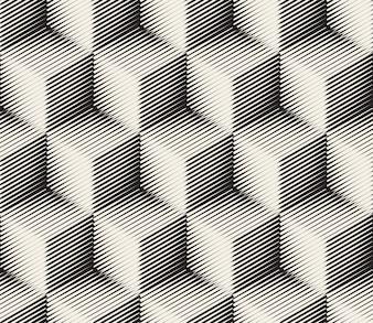 Motif des carrés abstraits