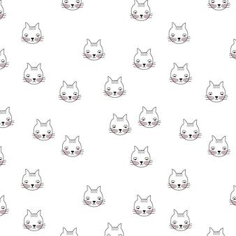 Motif des chats