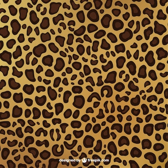 Motif imprimé léopard