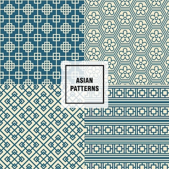 motifs floraux asiatiques
