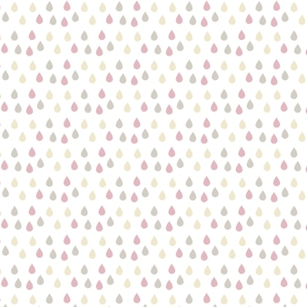 Multicolor drop pattern background