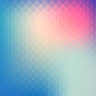 Multicolor fond polygonale
