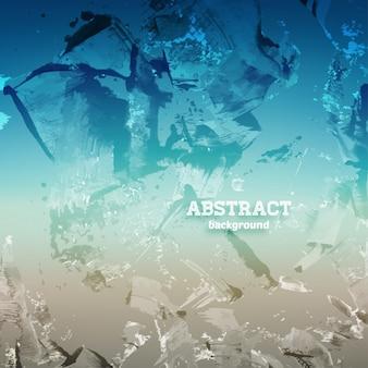 Nation planète web abstrait bleu