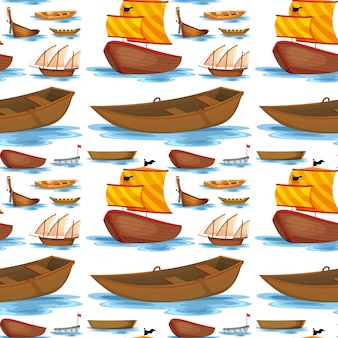 Navires et bateaux sans soudure