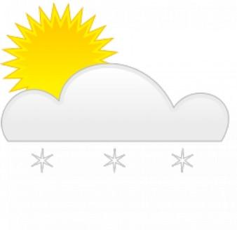 neige soleil