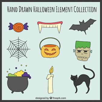Neuf éléments effrayants pour Halloween