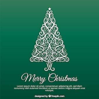 Noël arbre ornemental