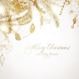 Noël gravure d'art de flocon de neige joyeux