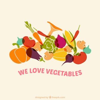 Nous aimons les légumes