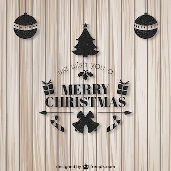 Nous vous souhaitons une carte de Joyeux Noël