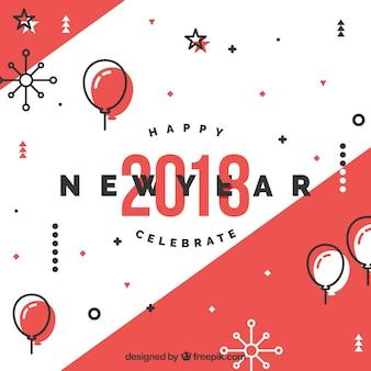 Nouvel an avec style original