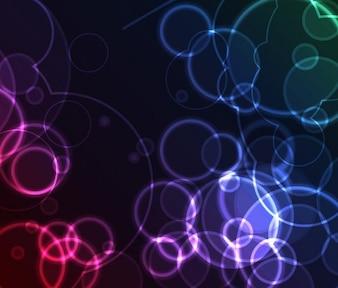 onirique fond abstrait vecteur de couleur