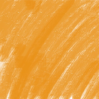Orange grunge watercolor background vector