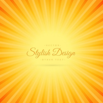 Orange, la couleur de fond avec l'effet de ligne transparente