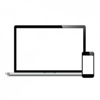 Ordinateur portable et la conception du téléphone mobile