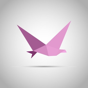 Origami papier oiseau